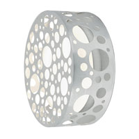 Eglo Rocker 1 Light Outdoor Wall Light in Aluminum 89541A