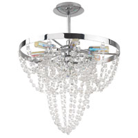 Eglo Lighting Swindon 7 Light Semi-Flush in Chrome 89567A