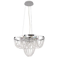 Eglo Lighting Swindon 9 Light Chandelier in Chrome 89569A