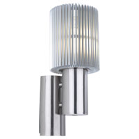 Eglo Maronello 1 Light Outdoor Wall Light in Aluminum 89572A