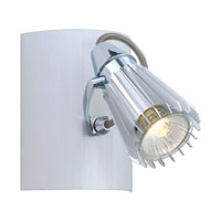 Eglo 89598A Calvi Aluminum 50 watt 1 Light Spot Light