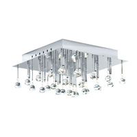Eglo Lighting Soraya 16 Light Wall Light in Chrome 89779A