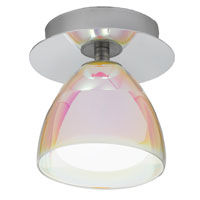 Eglo Lighting Acento 1 Light Ceiling Light in Chrome 90078A