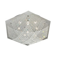 Eglo Lighting Lerida 16 Light Ceiling Light in Chrome & Crystal 90112A