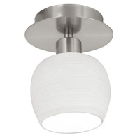 Eglo Bantry 1 Light Wall Light in Matte Nickel 90115A