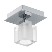 Eglo Bantry 1 Light Wall Light in Matte Nickel 90117A
