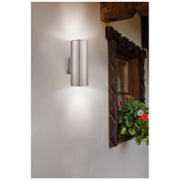 Eglo 90121A Ascoli 2 Light 5 inch Stainless Steel Wall Light alternative photo thumbnail