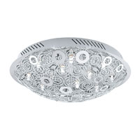 Eglo Lighting Cromer 12 Light Wall Light in Chrome 90149A