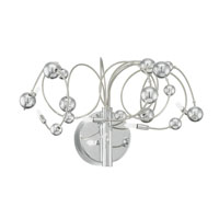 Othello 5 Light 11 inch Chrome Wall Light