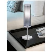 Eglo 90308A Pinto Nero 20 Inch 60 Watt Matte Nickel Table Lamp Portable  Light Alternative Photo