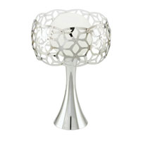 Eglo Lighting Oxana 1 Light Table Lamp in Chrome 90442A