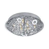 Eglo Cromer 8 Light Ceiling Light in Chrome 90521A