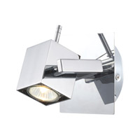 Eglo Manao 1 Light Track Light in Chrome 90522A
