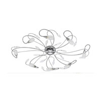 Gerbera 8 Light 30 inch Chrome Wall Light