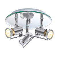 Eglo Lighting Tamara 3 Light Wall Spot in Chrome 90686A
