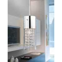 Eglo 90695A Diamond 1 Light 5 inch Chrome Mini Pendant Ceiling Light alternative photo thumbnail
