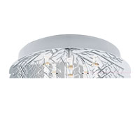 Eglo Lighting Cromer 8 Light Ceiling Light in Chrome 91085A