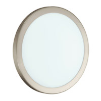 Eglo 91853A LED Arezzo LED Matte Nickel Wall/Ceiling Light Wall Light