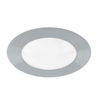 Eglo Calvin 1-Light LED Flush Mount in Chrome 92097A