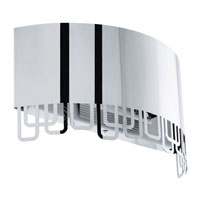 Eglo Lighting Fenella 1-Light Wall Sconce in Stainless Steel 92132A
