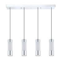 Eglo Fosforo LED Multi Light Pendant in Chrome 92245A