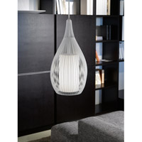 Eglo Lighting Razoni 1-Light Mini Pendant in White 92251A