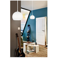 Eglo 92357A Petto 1 Light 6 inch Steel / White Pendant Ceiling Light alternative photo thumbnail