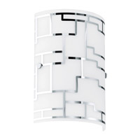 Eglo Lighting Bayman 1-Light Wall Sconce in Chrome 92564A