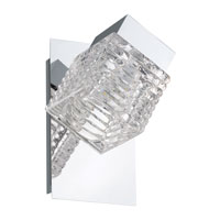 Eglo Lighting Quarto 1-Light LED Wall/Ceiling Light in Chrome 92662A