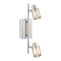 Eglo Tarolo (1) 2 Light Track Light in Chrome 92766A