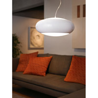 Eglo 92791A Carsico 2 Light 16 inch Glossy White Pendant Ceiling Light alternative photo thumbnail