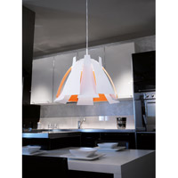Eglo 92796A Tressi 1 Light 17 inch Glossy White Pendant Ceiling Light alternative photo thumbnail