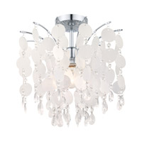 Fedra 1 Light 16 inch Chrome Ceiling Light