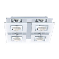 Eglo 92876A Cabo Chrome 35 watt 4 Light Spot Light