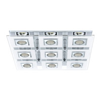 Cabo Chrome 20 watt 9 Light Spot Light