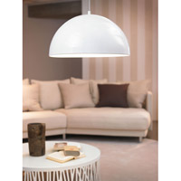 Eglo 92954A Gaetano LED 21 inch Glossy White Pendant Ceiling Light alternative photo thumbnail
