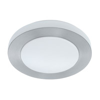 Eglo Carpi LED Flush Mount in Brushed Aluminum 93287A