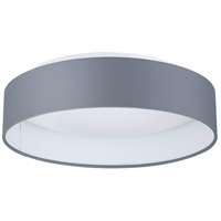 Eglo Palomaro LED Flush Mount in Black Fabric 93395A
