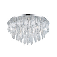 Eglo Calaonda 7 Light Ceiling Light in Chrome 93413A