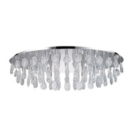 Calaonda 10 Light 24 inch Chrome Ceiling Light