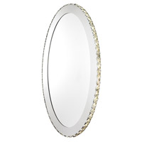 Eglo Toneria LED 9 Light Mirror in Chrome with Mirrored Glass and Clear Crystals 94085A