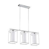 Loncino I 3 Light 6 inch Chrome Multi Light Pendant Ceiling Light