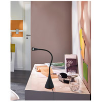 Eglo 94677A Snapora 19 inch 3.5 watt Black Desk Lamp Portable Light, LED alternative photo thumbnail