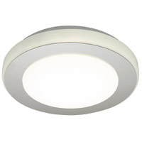 Eglo 95282A LED Carpi LED 12 inch Chrome and White Flush Mount Ceiling Light