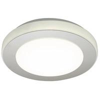 Eglo 95282A Led Carpi LED 12 inch Chrome and White Flush Mount Ceiling Light
