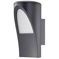 Eglo 96008A Propenda 1 Light 11 inch Anthricite Outdoor Wall Light