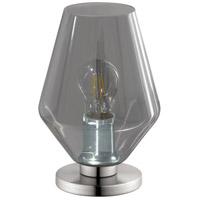 Eglo 96775A Murmillo 10 inch 25 watt Matte Nickel Table Lamp Portable Light