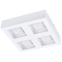 Eglo 96794A Ferreros LED 11 inch White Flush Mount Ceiling Light