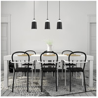Eglo 96801A Tabanera 1 Light 6 inch Black and White Mini Pendant Ceiling Light alternative photo thumbnail