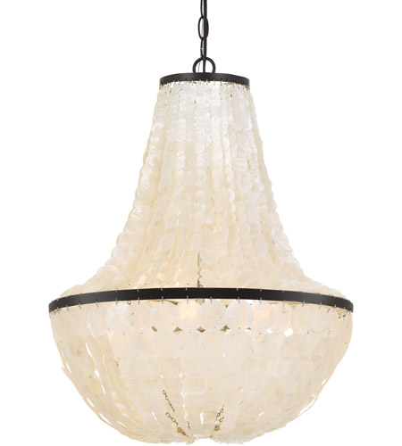 Elight Design ED02606BZ Signature 6 Light 18 inch Bronze Chandelier Ceiling Light photo thumbnail